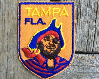 LAST ONE! Tampa Florida Vintage Souvenir Travel Patch from Voyager