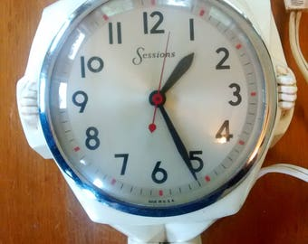 Vintage Sessions Chef Wall Clock Made in USA