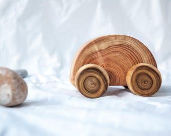 Wood toy car - Wooden Push toy car - Wooden toy car - Gift for boys - Wooden toys for boys