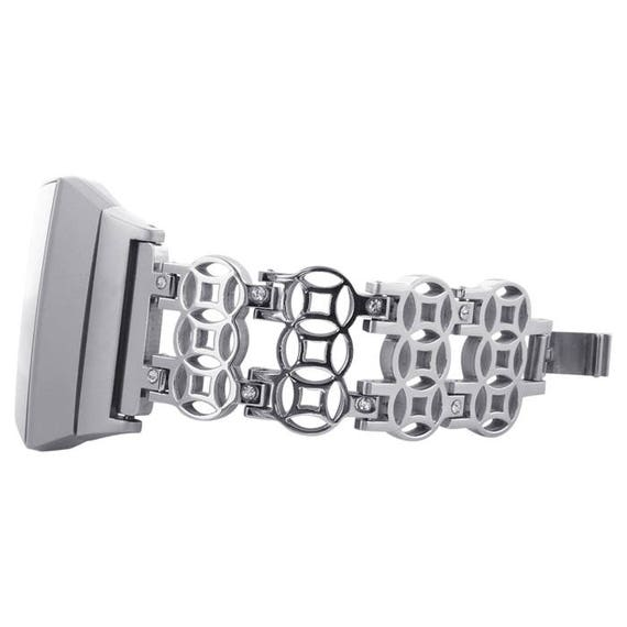 Preorder Fitbit Ionic Band -  Flower - more colors available - stainless steel and zirconia stones - ships by end of November