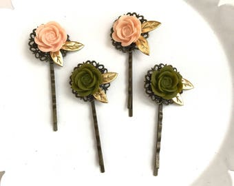 Fall Flower III Planner Clips // Bookmarks