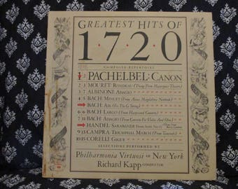Greatest Hits of 1720 Record LP Album