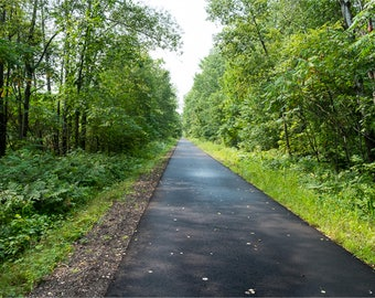 CHIPPEWA COUNTY TRAIL | modern fine art photography blank note cards custom books interior wall decor affordable pictures –Rick Graves