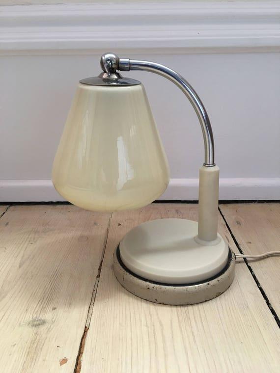 Vintage Bauhaus Ruppel werke gotha Marianne Brandt bedroom lamp tast licht