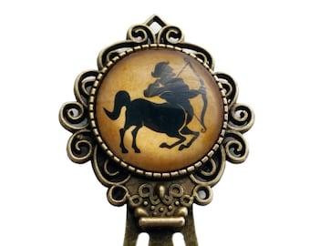 Zodiac Sagittarius Bookmark