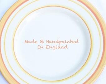 Hand-painted Ceramic Plate | Saturn |  - 28.6cm