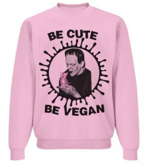 Frankenstein...Be Cute Be Vegan
