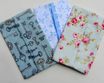 Pocket Tissue Cover - Fabric Tissue Holder - Travel Tissue Cover - Pocket Tissue Holder - Tissue Pouch - Tissue Pouch - Tissue Purse