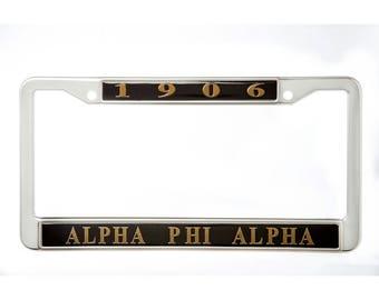 Alpha Phi Alpha - 1906 Plate Frame