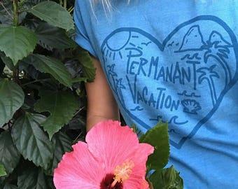 Permanent Vacation Heart Tee