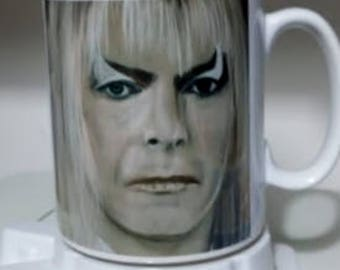 Jareth coffee mug from my own drawing
