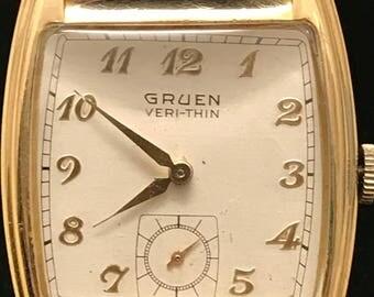 Vintage Gruen Veri-Thin Watch
