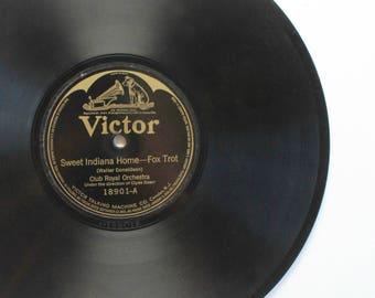 Victor Victrola Records, 10 Inch Vinyl Records