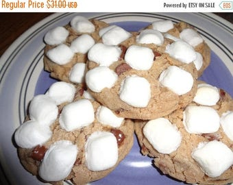 ON SALE: Soft and Chewy Homemade S'More Cookies (3 Dozen)