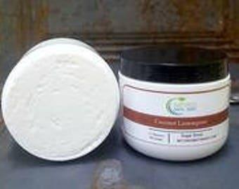 Coconut Lemongrass Sugar Scrub