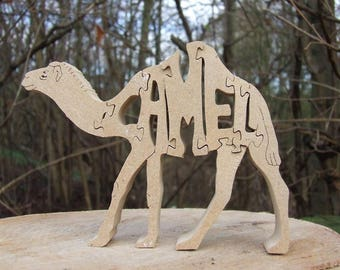 Camel ornament, camel decor, camel sculpture, camel gift, wooden camel, camel lover gift, Arabian, Arabian camel, mothers day gift