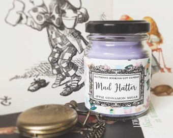 Mad Hatter Vegan Soy Candle