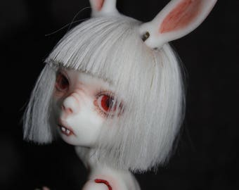 "Porcelain BJD Ball jointed doll bunny ""Zoya"" by Olesya Kudryashova."