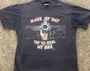 Vintage 1980s Harley Davidson Sleeveless Shirt (Orwigsburg PA) large
