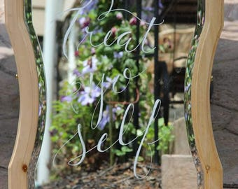 Wedding Mirror Sign - LOCAL BALTIMORE RENTAL