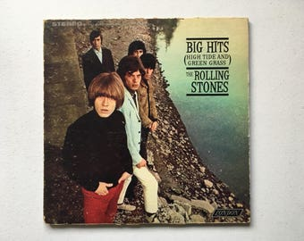 The Rolling Stones Big Hits (High Tide And Green Grass) Vinyl LP