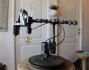 """Lampe industrielle """"froggy lamp"""" By Recyclhome."""