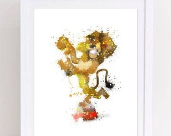 70%OFF madagascar print, watercolor madagascar, madagascar watercolor, alex watercolor, alex the lion, alex lion print, dreamworks watercolo