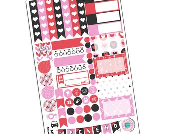 Amoré Mini Kit - Valentine's Day Planner Stickers