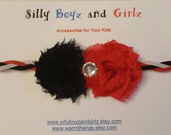 Flower Skinny Headband Set