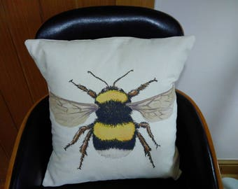 Bumble Bee cushion FREE POSTAGE
