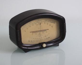 Vintage Soviet Barometer - Bakelite Barometer - Vintage Barometer USSR 1950s -  Inhouse  Thermometer