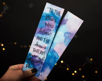 A Court of Mist and Fury Bookmark // Rhysand bookmark