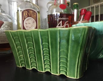 Vintage Hull Pottery Succulent planter.