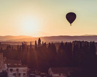 Up, Up and Away, Florence, Tuscany, Italy