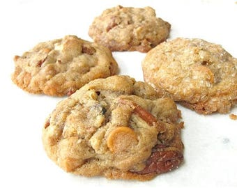 Melt in your mouth Butterscotch Pecan Cookies - 2 dozen