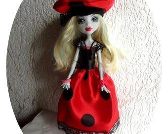 27 cm compatible monster high doll clothes outfit
