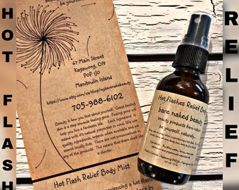 All Natural Body Mist - bare naked beauty