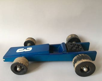 NAEF Wooden Toys - Big Racing Car - VERY RARE - Perfect Gift