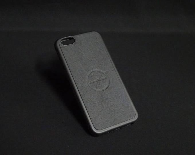 Apple iPhone 6 6S - Jimmy Case in Black - Kangaroo leather - Handmade - James Watson