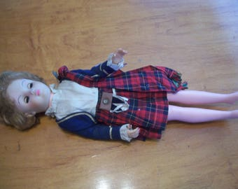 Unmarked Scottish Doll