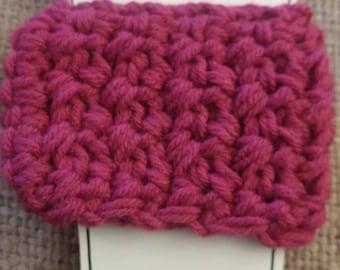 Pink Cup Cozy, Coffee Cozy, Cup Cozy, Coffee Cup Cozy, Pink Coffee Cup Cozy, Reusable Cup Cozy, Crochet Cup Cozy, Pink Cozy