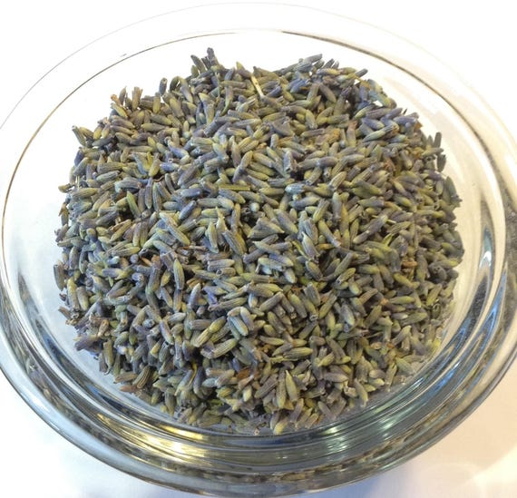 1/2-4 oz Lavender Lavandin Lavandula x intermedia Whole Flowers Organic no preservatives