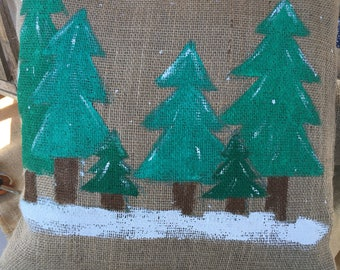 Pine Trees Pillow