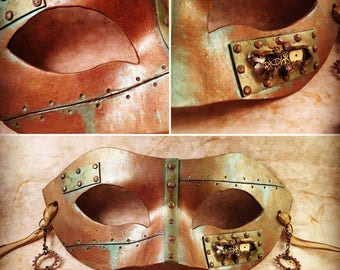 Steampunk Submarine Masquerade Mask