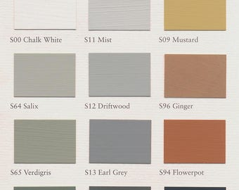 Painting the past - furniture color matte 0, 75 l - Seasonalities