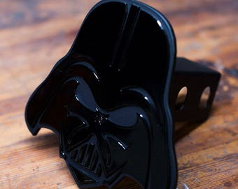 Darth Vader Cartoon Design Trailer Hitch Cover