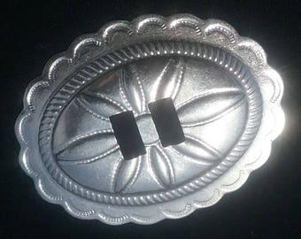 Vintage steel oval conchos,  conchos,  vintage,  steel,  steel conchos,  bridal conchos,  boot conchos,  hat conchos,  western conchos