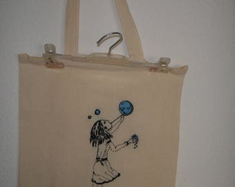 Tote bag bordada / Hand embroidered tote bag