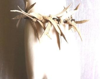TOXIK natural suede leather bracelet