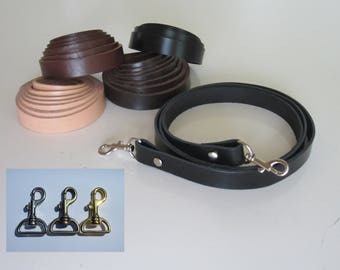 "3/4"" Genuine Leather Replacement Strap, Shoulder Strap, Purse Straps, Bag Strap, Handbag Straps, Custom Made 40""- 50"" Long"
